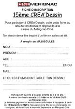 Concours Créa'Dessin 15ème édition