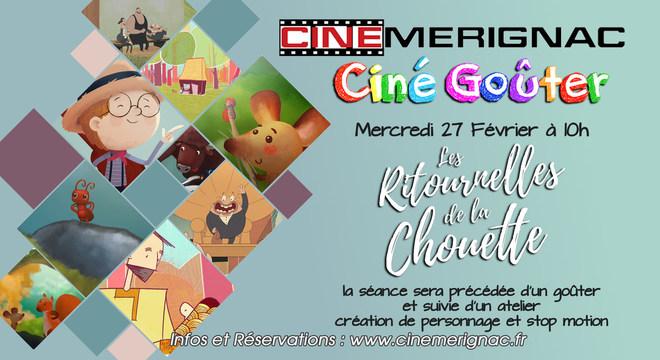 """CINE-GOÛTER """"Les ritournelles de la Chouette"""""""