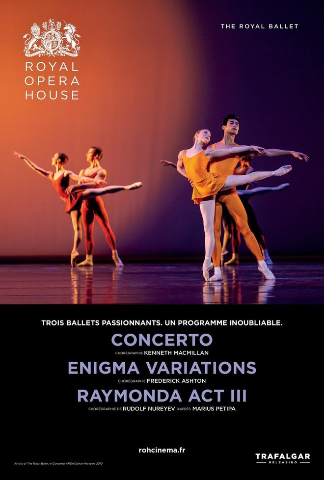 "BALLET ""Concerto / Enigma Variations / Raymonda acte III"""