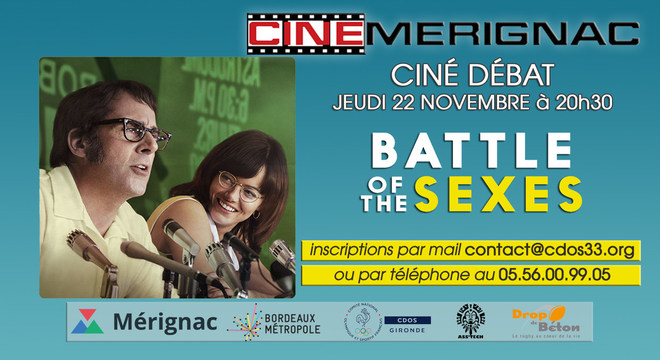 "CINE-DEBAT ""Battle of the sexes"""