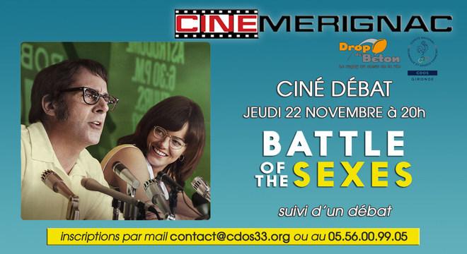 """CINE-DEBAT """"Battle of the sexes"""""""
