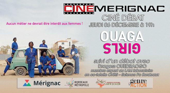 "CINE-DEBAT ""Ouaga Girls"""